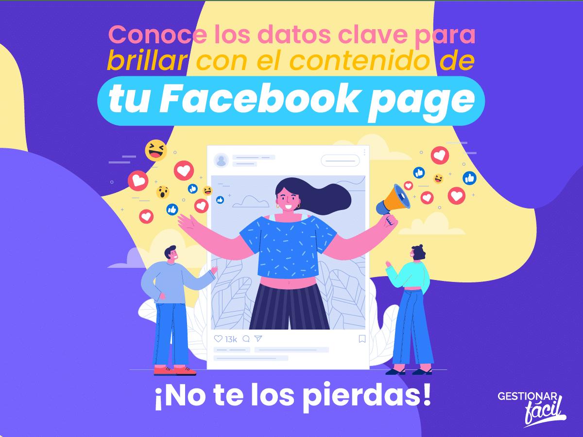 Optimiza el contenido de tu Facebook page