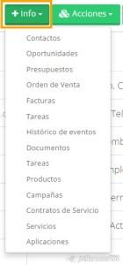 Acciones + info