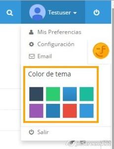 Configurar Color