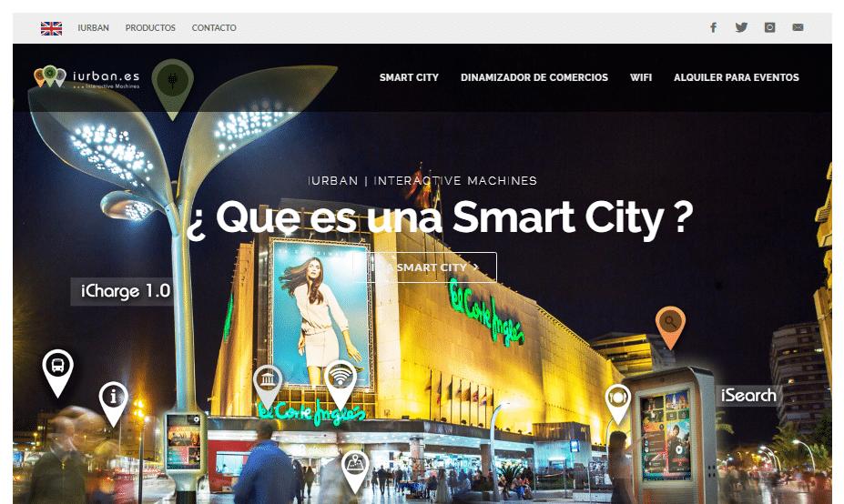 """iUrban, propone el concepto de """"Smart City"""""""