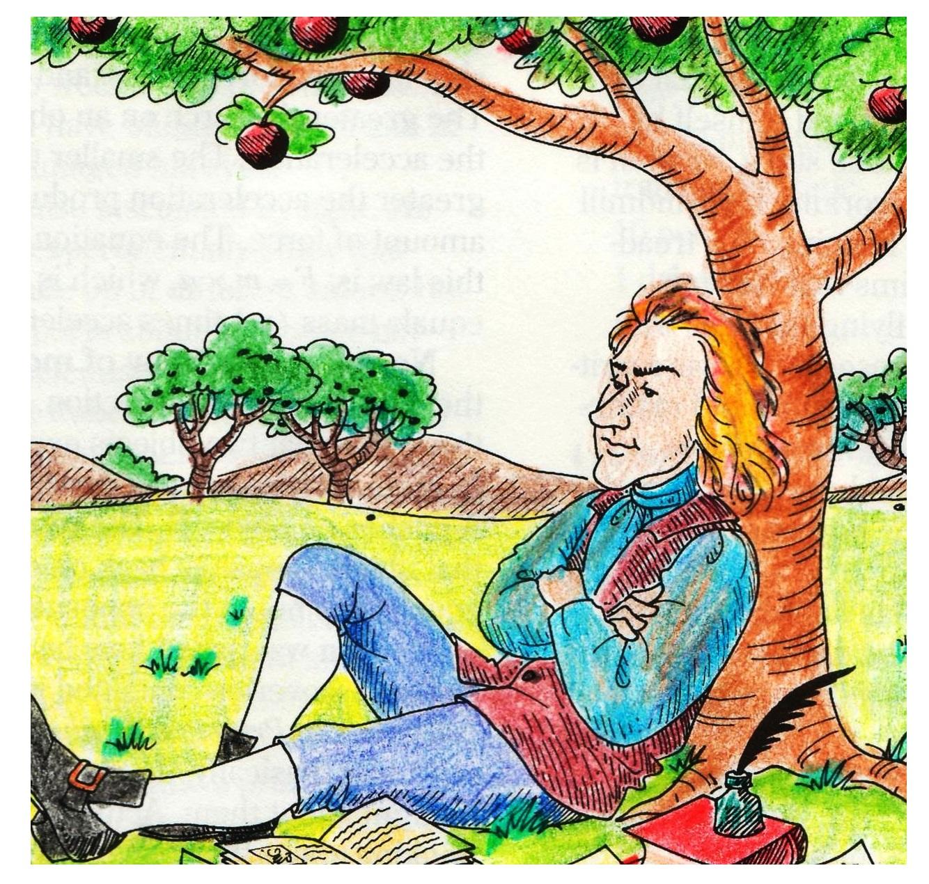 """Isaac Newton vio algo que era """"obvio"""""""