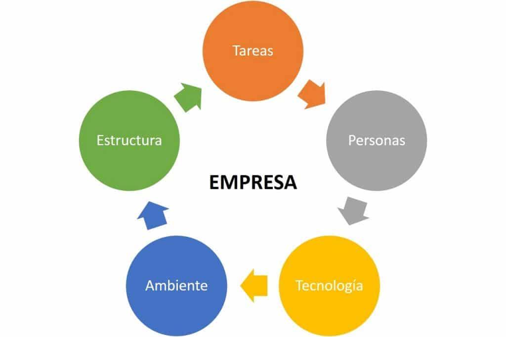 Una empresa es la suma de partes, que producen sinergia.
