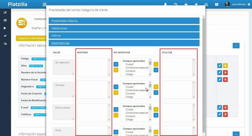 Mejorar la gestión de la información en un CRM Comercial…