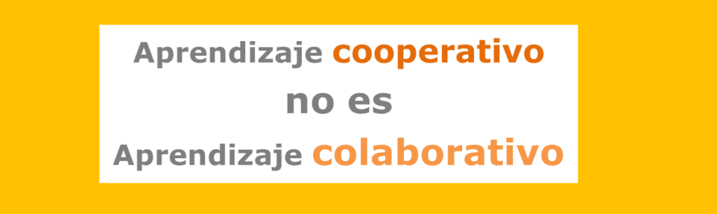 Aprendizaje colaborativo y el trabajo en equipo