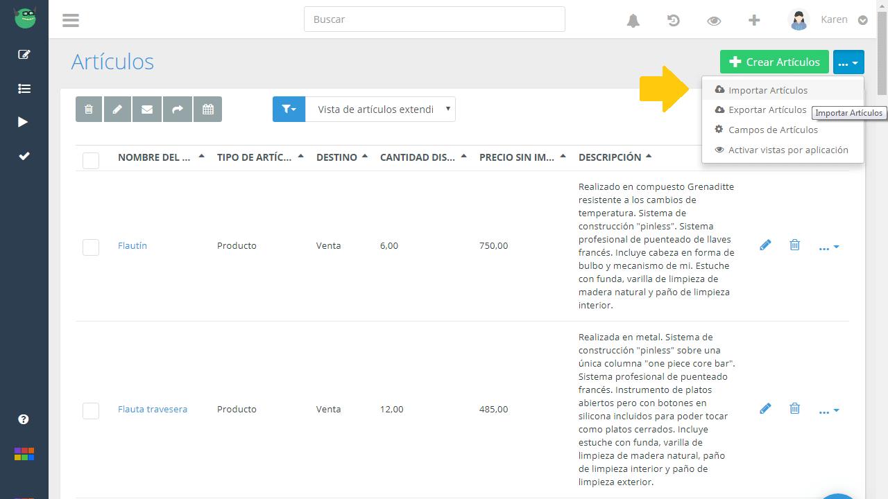 Importar datos en Platzilla. ¡Es fácil y rápido!
