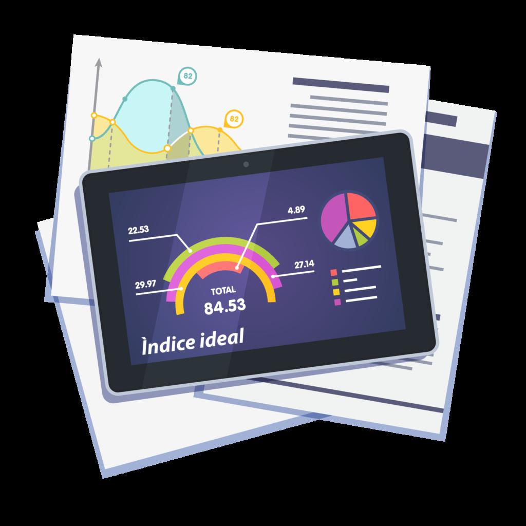 El índice IDEAL involucra: foco, control, colaboración y mejora continua
