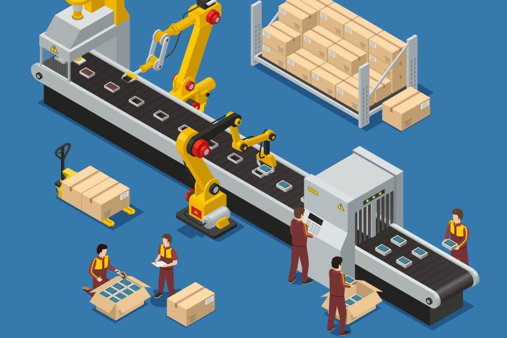 """En manufactura, los procesos son """"tangibles"""". En la organización de actividades, son menos fáciles de describir."""