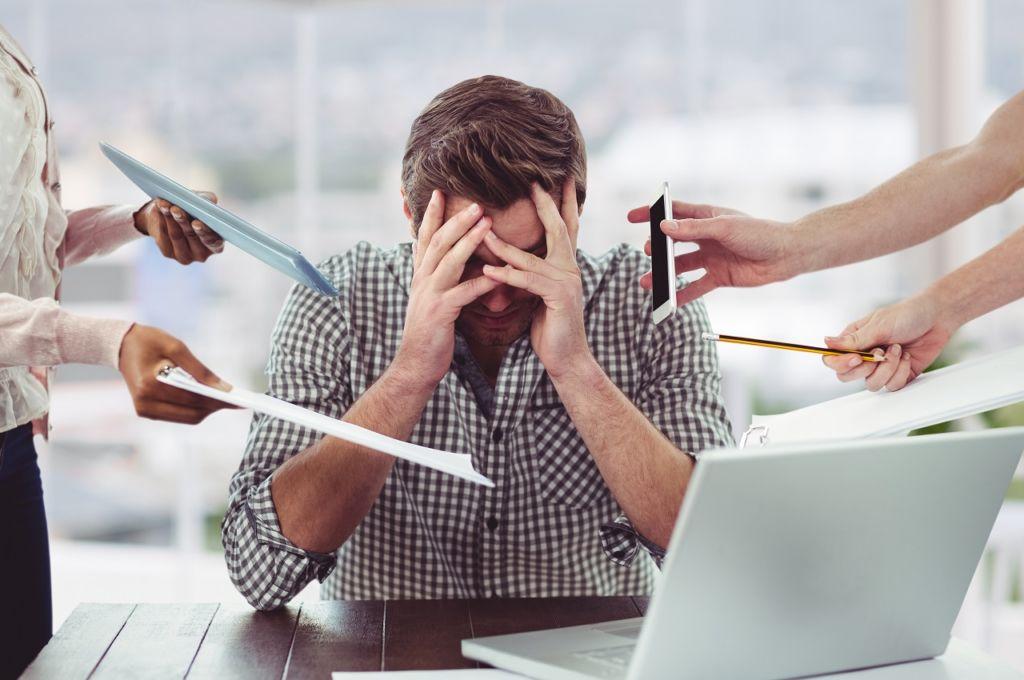 Si no organizas y controlas las actividades, puedes pasar malos ratos