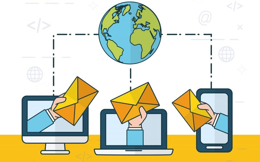 Un punto que debes tener presente es que ahora también las empresas compiten enviando emails.