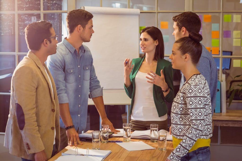En tu empresa debes desarrollar los objetivos del plan con tu equipo.