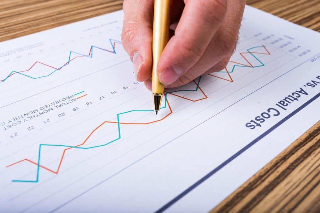 La comparación entre ratios financieros de períodos distintos, nos permite, además, detectar tendencias.