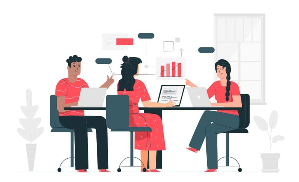 En las organizaciones exitosas, evitan el monopolio de la participación.