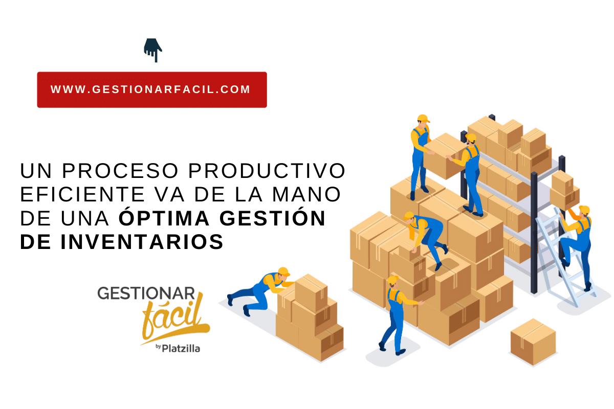EL área de producción y operaciones realiza la gestión de inventarios