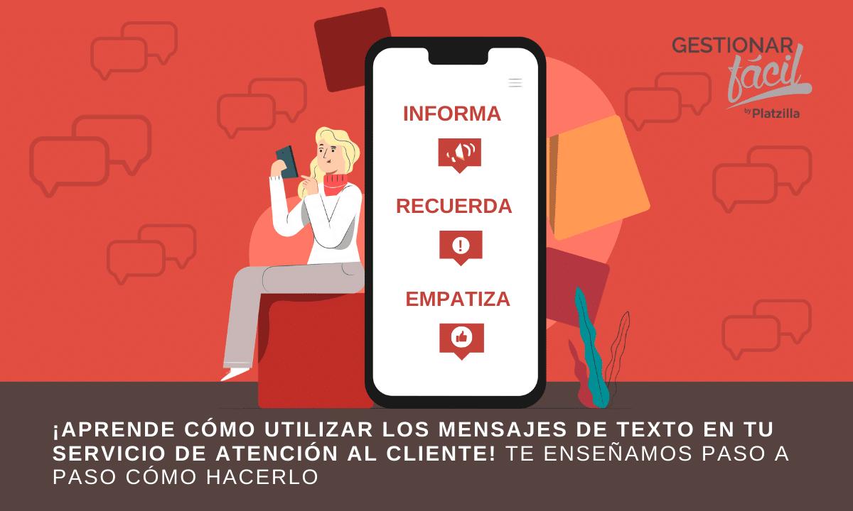 Cómo realizar la atención al cliente por mensajes de texto
