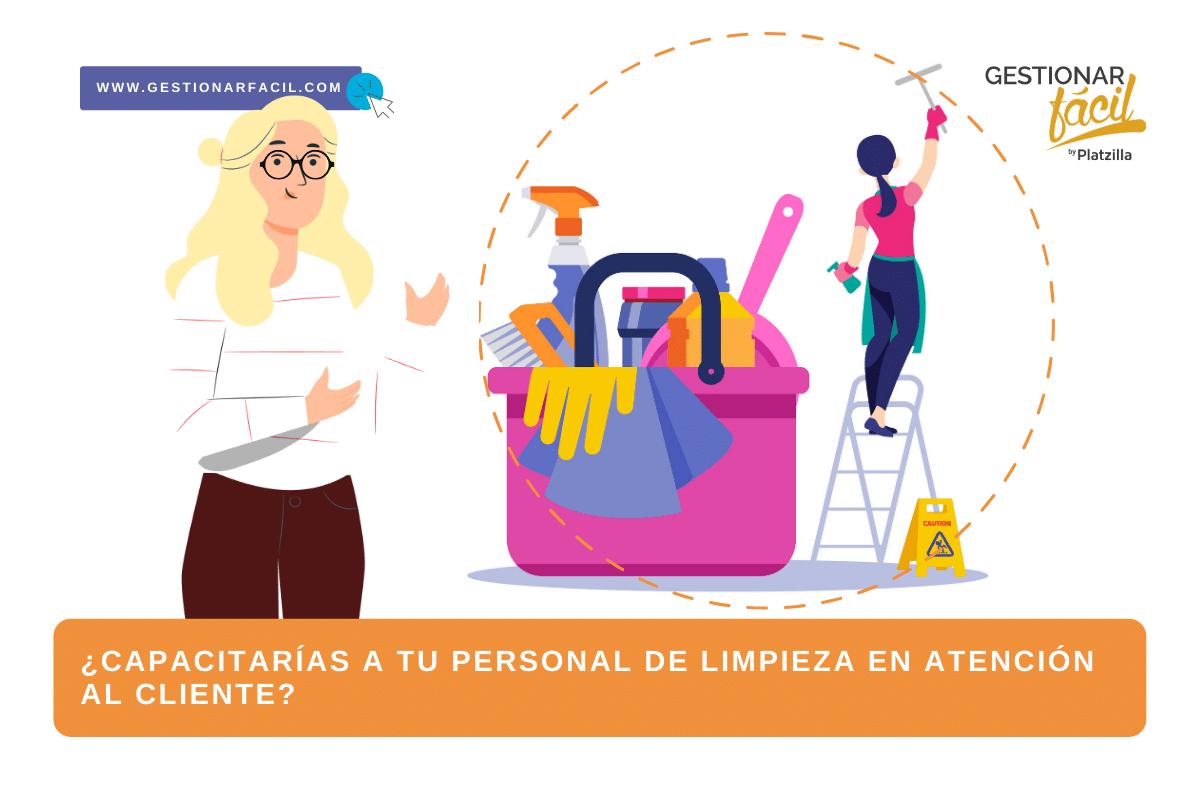 ¿Capacitarías a tu personal de limpieza en atención al cliente?