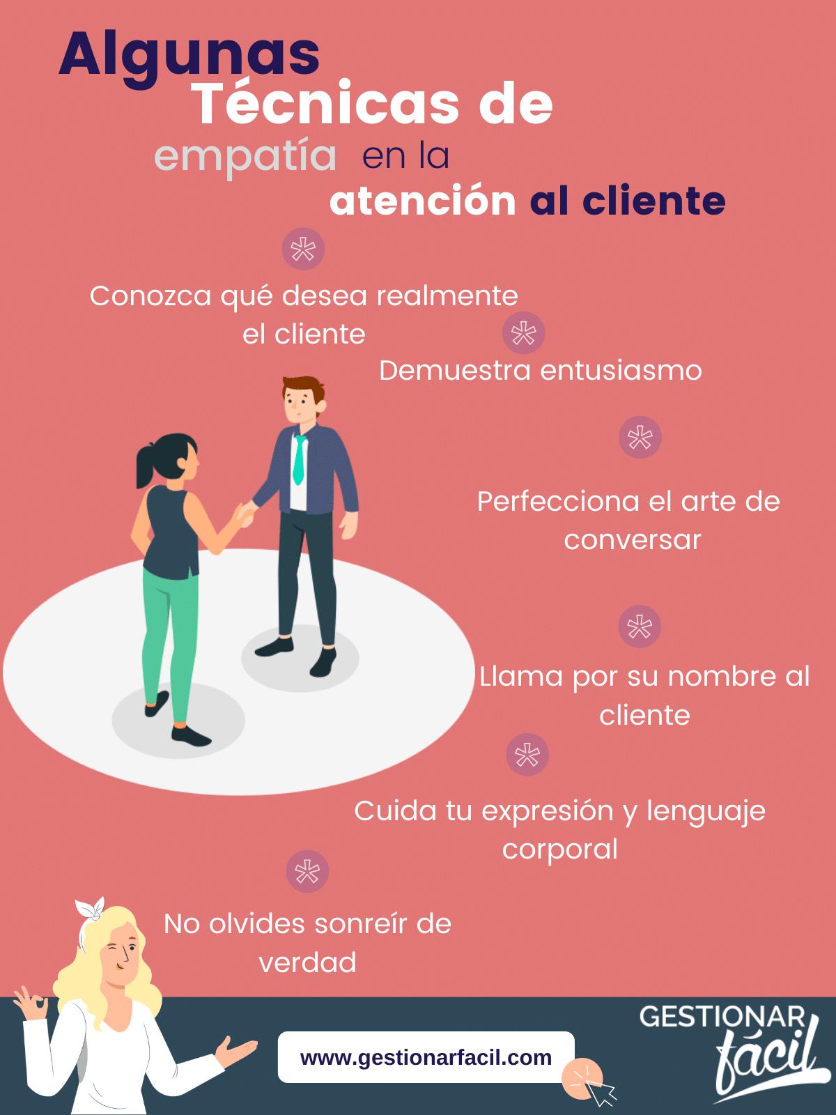 Técnicas de empatía en la atención al cliente