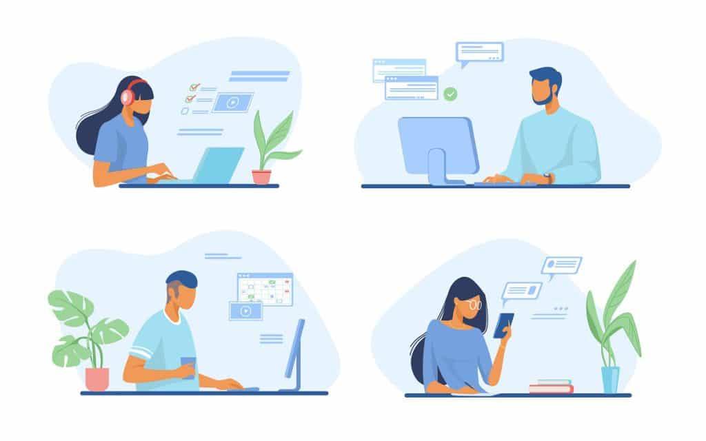 Personaliza la conversación con tus clientes, responde rápido, con mensajes precisos y cortos.