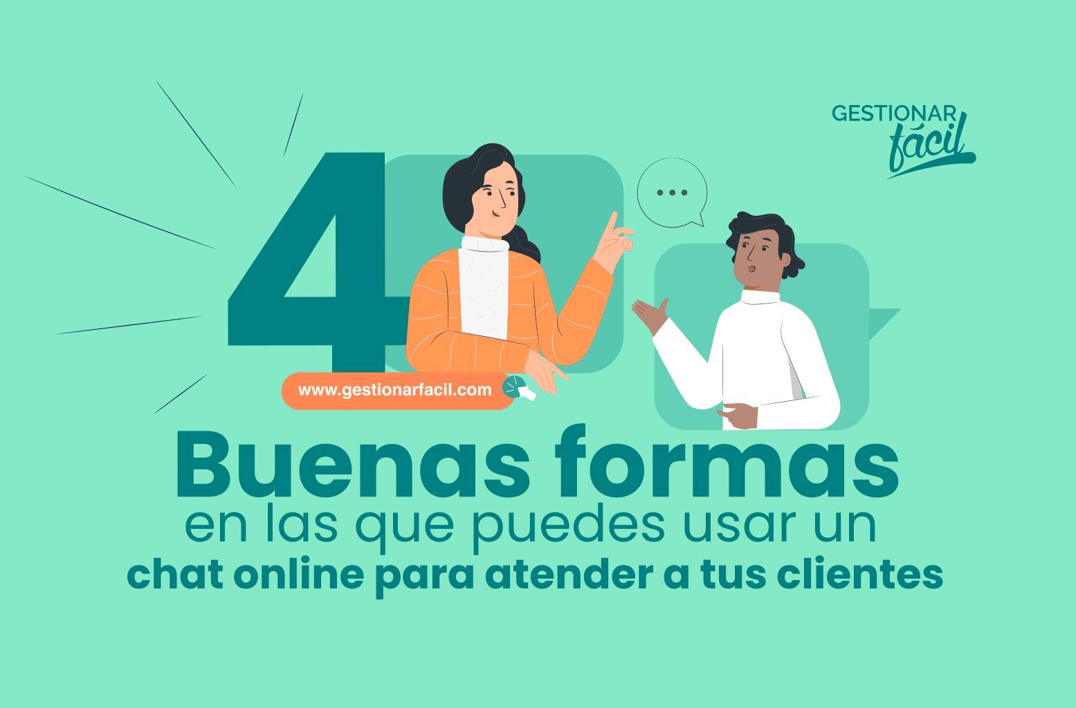 ¿Cómo utilizar el chat online para la atención al cliente?