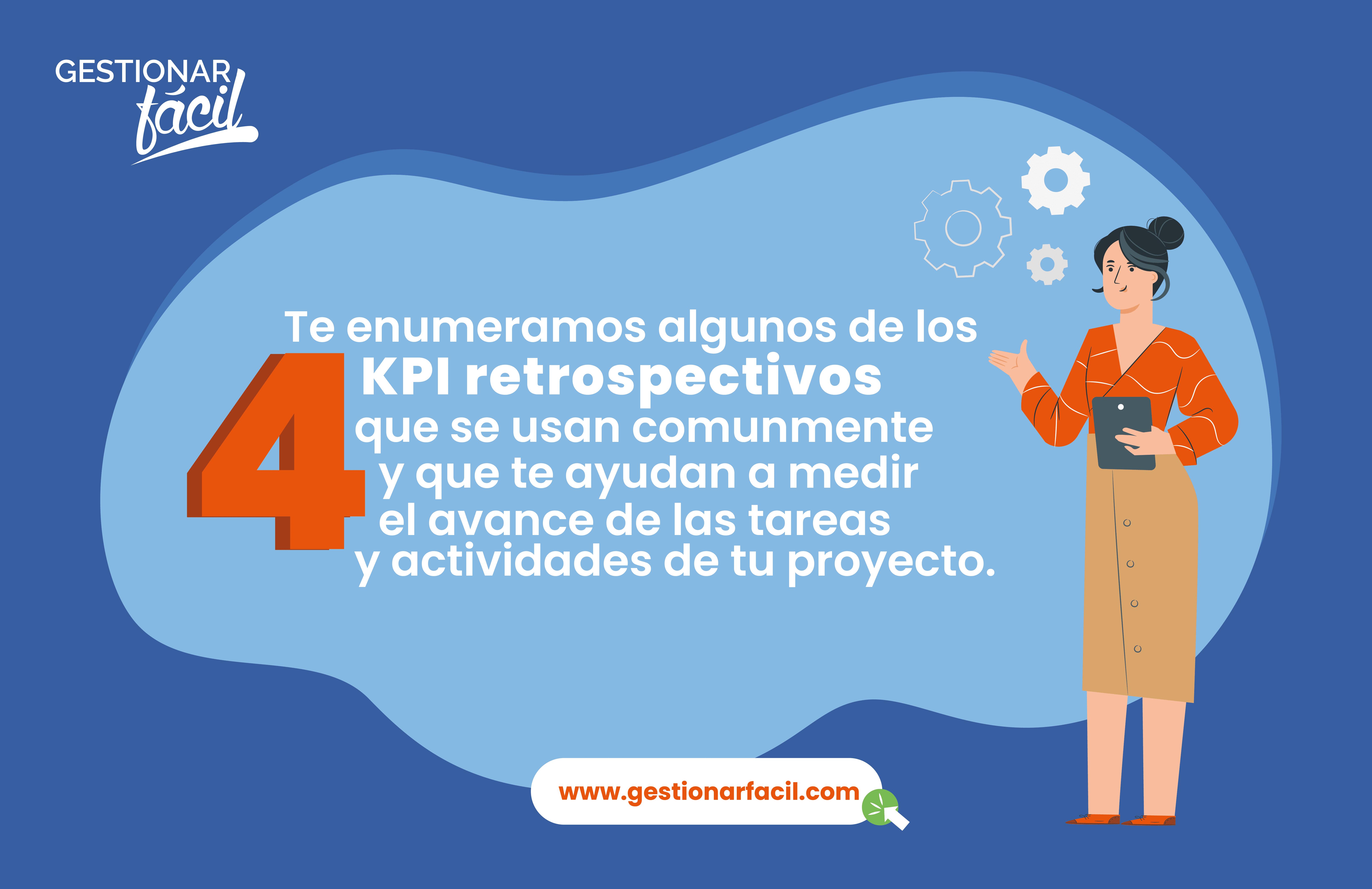 4 indicadores de evaluación de proyectos.