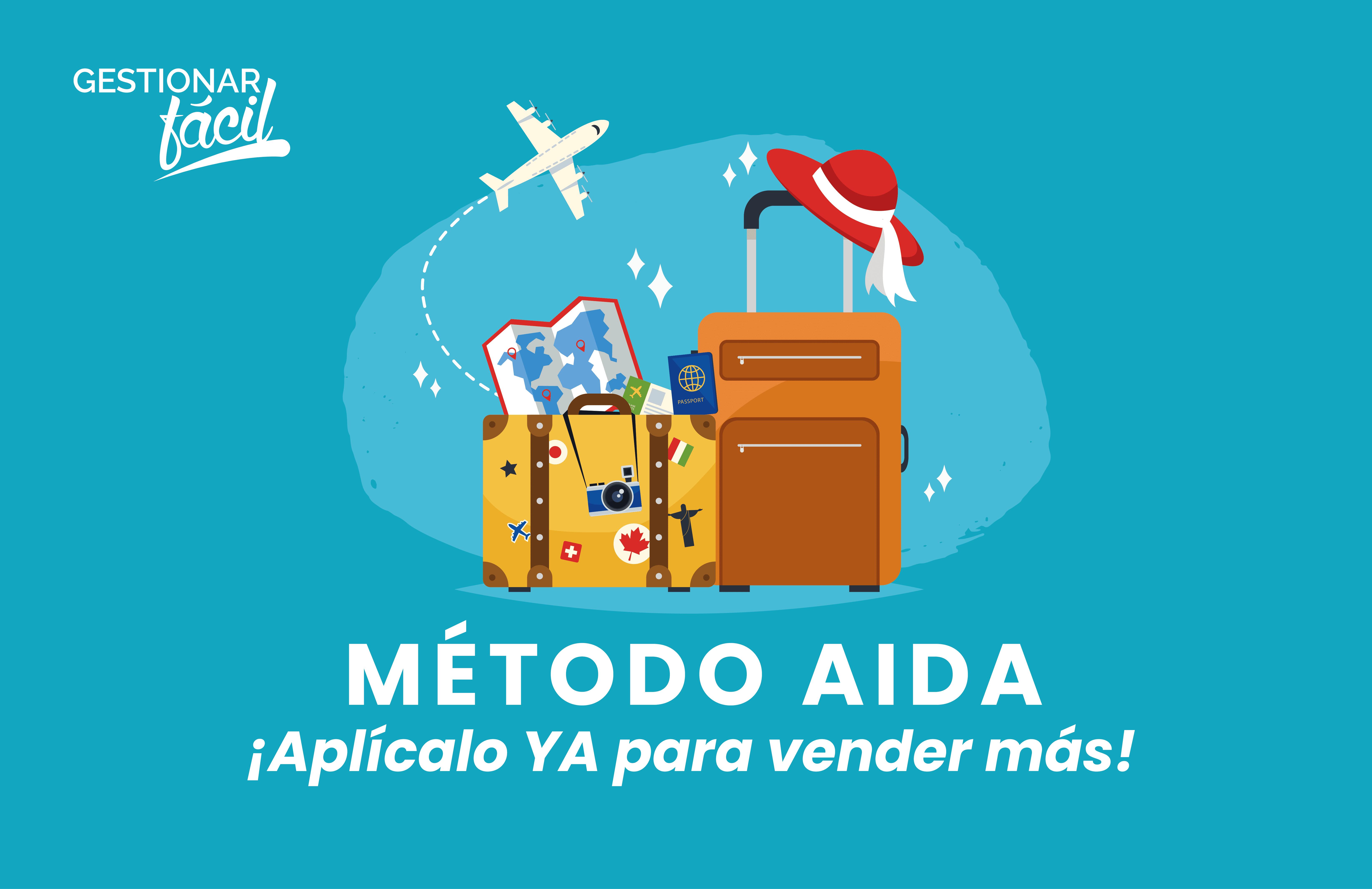 Cómo aplicar el método AIDA para vender viajes turísticos
