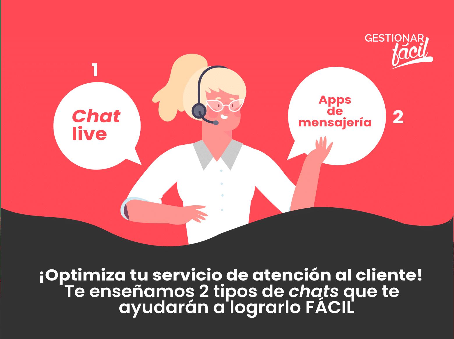 2 herramientas chat online en atención al cliente