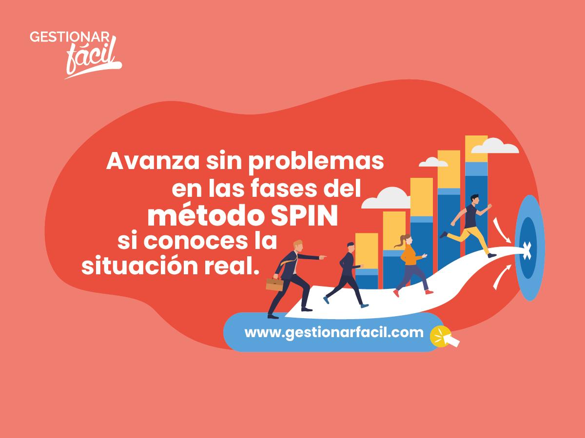Avanza sin problemas en las fases del método SPIN si conoces la situación real.