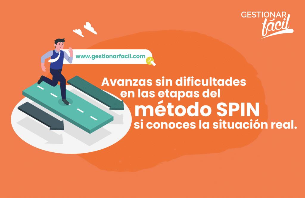 Avanzas sin dificultades en las etapas del método SPIN si conoces la situación real.
