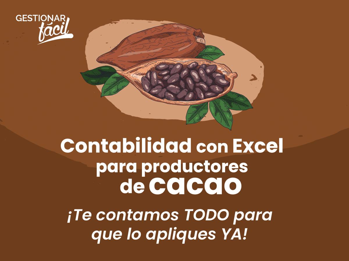 Contabilidad con Excel para productores de cacao