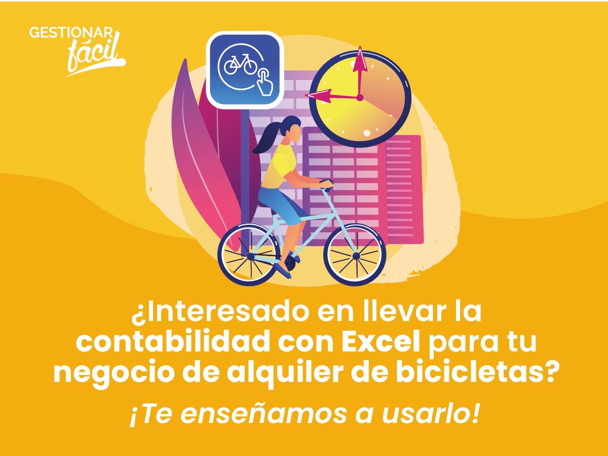 Contabilidad con Excel en negocios de alquiler de bicicleta