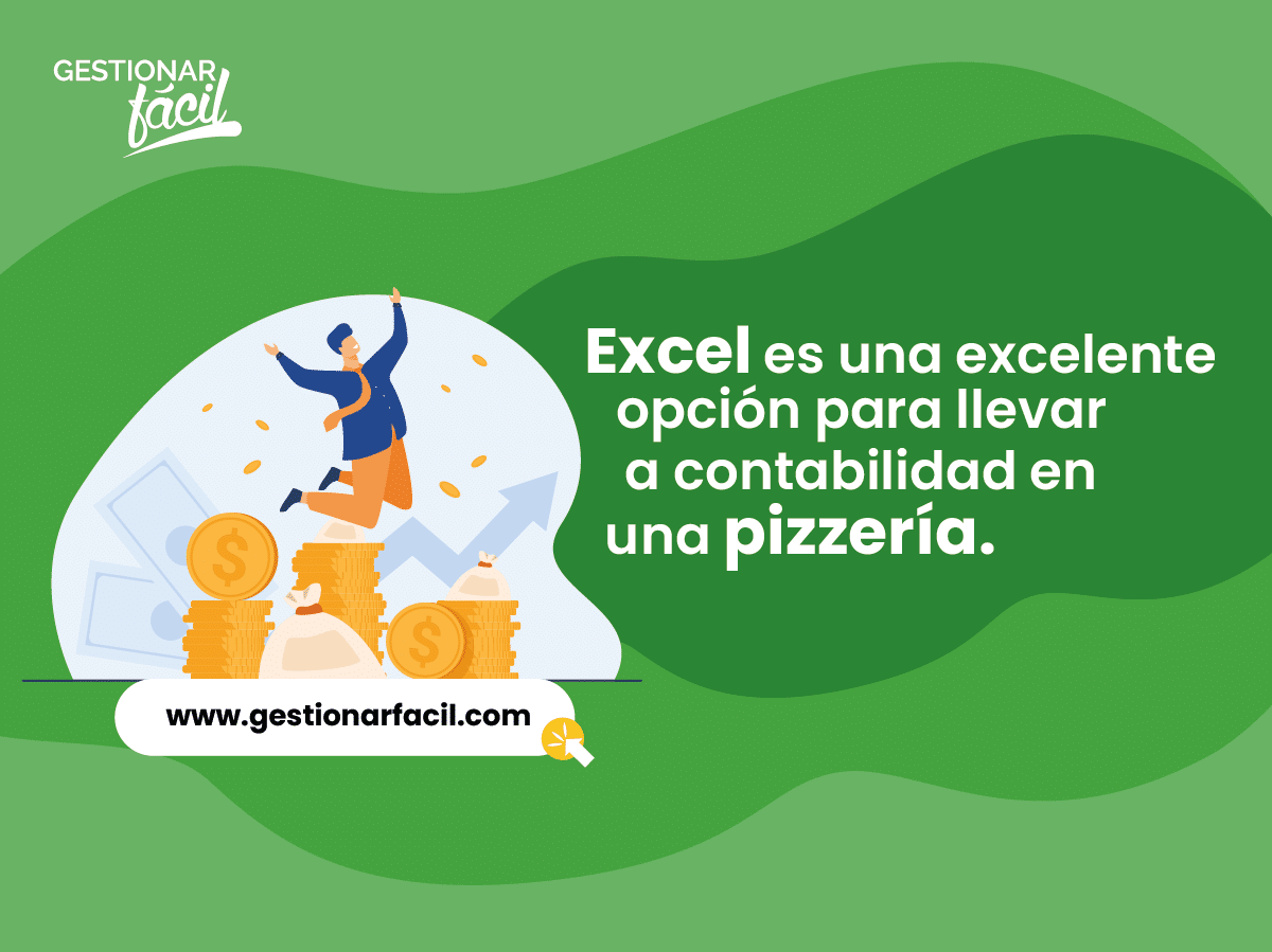 Excel es una excelente opción para llevar la contabilidad en una pizzería.