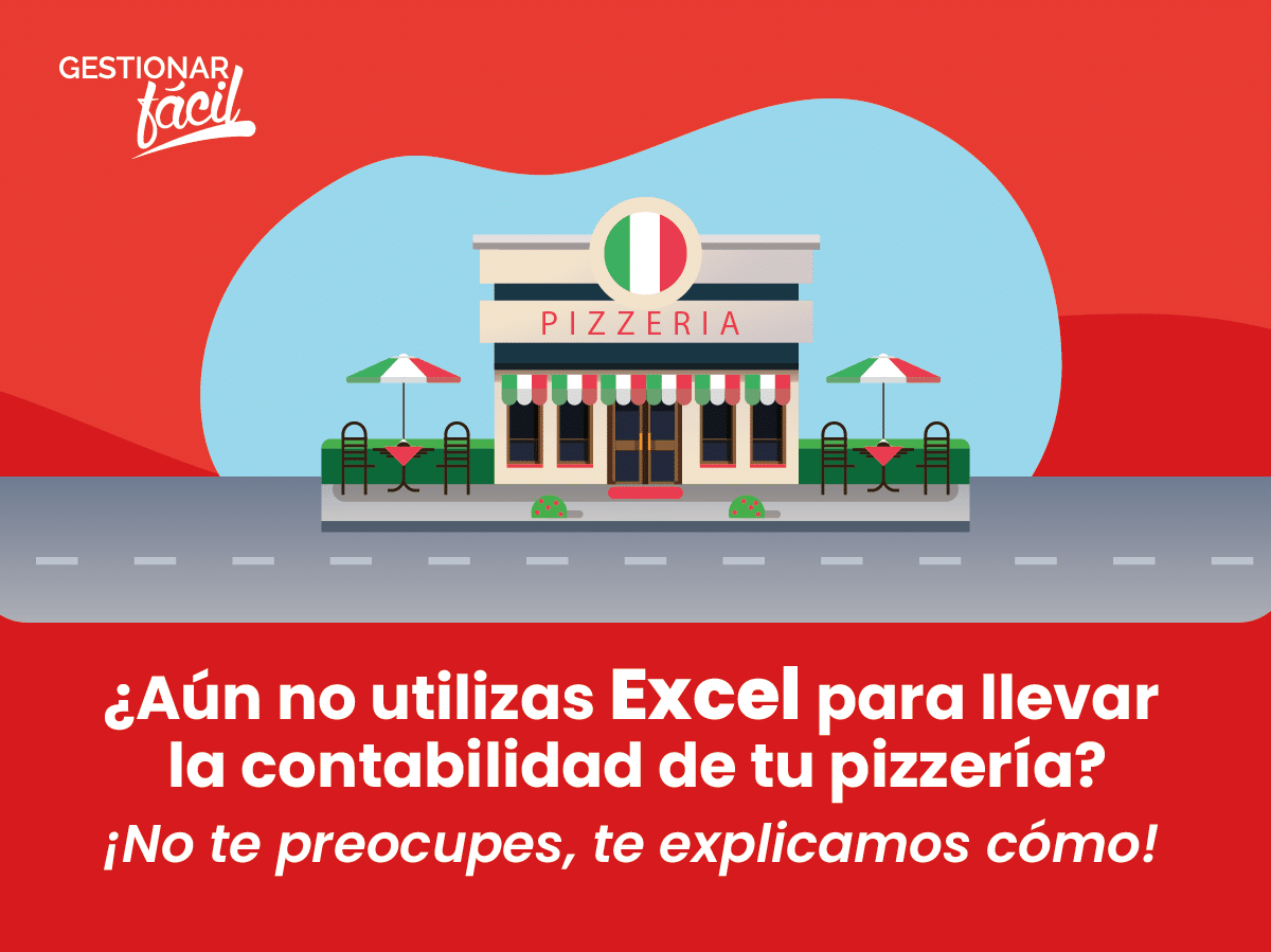 Contabilidad con Excel para una pizzería