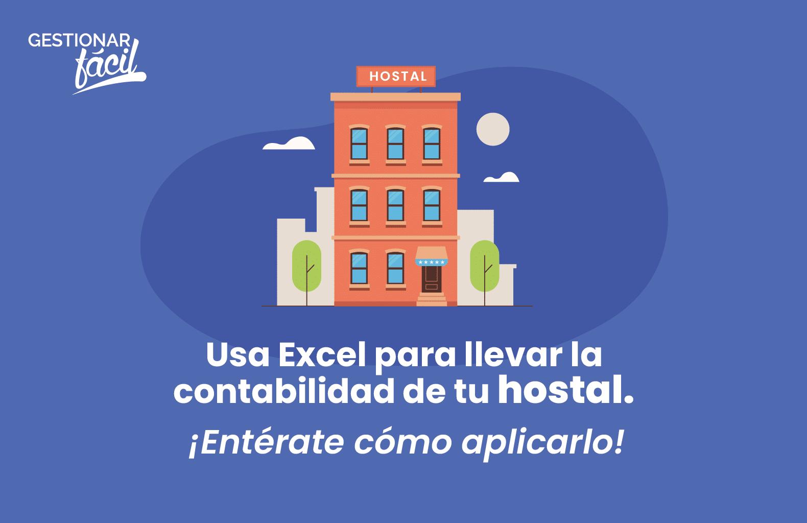 Contabilidad con Excel para un hostal