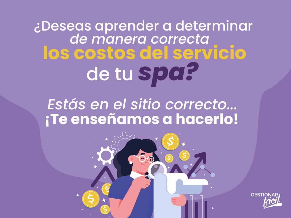 ¿Cómo calcular el costo del servicio de un spa? ¡Es fácil!