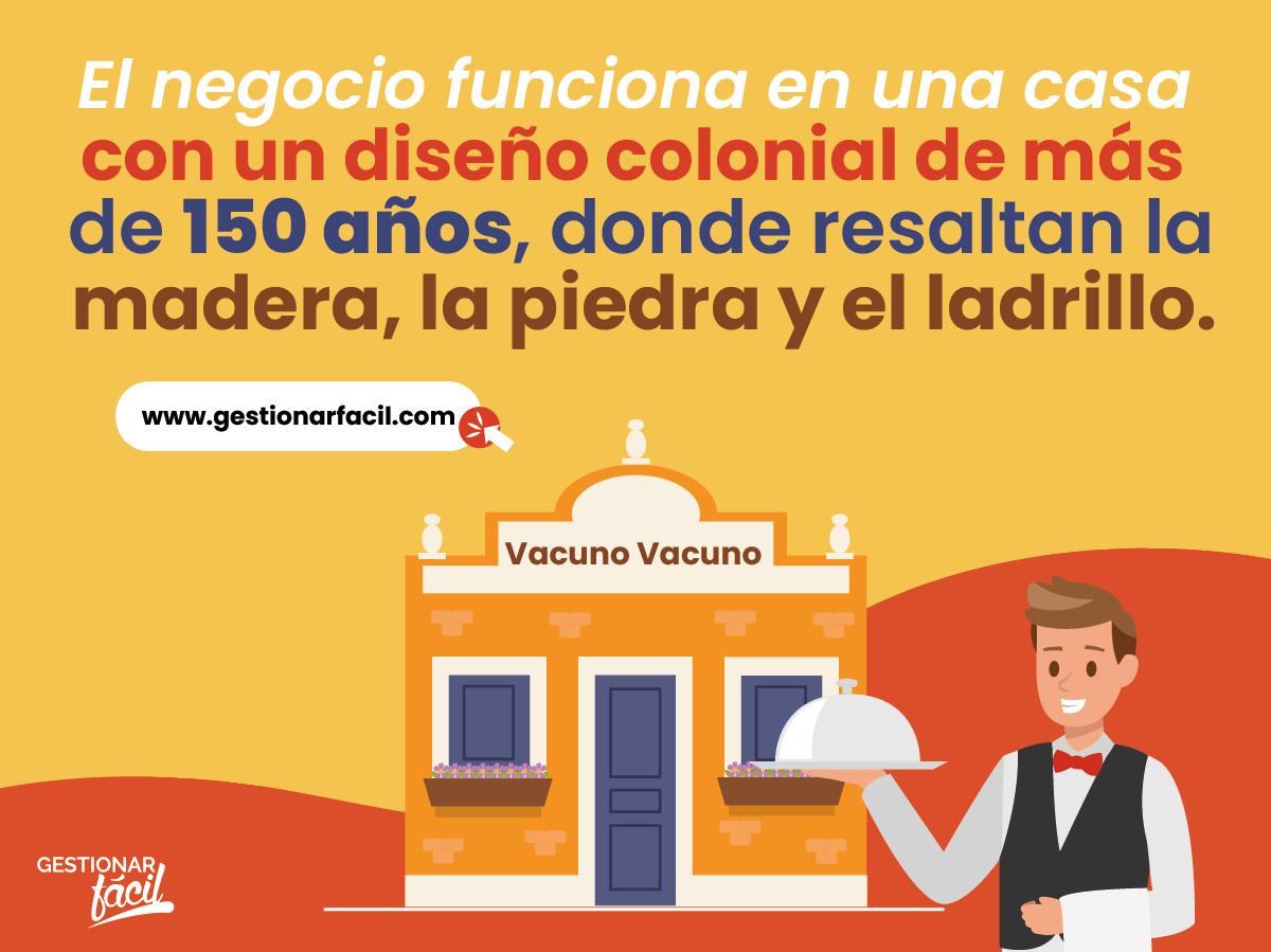"""Restaurante """"Vacuno, Vacuno""""."""