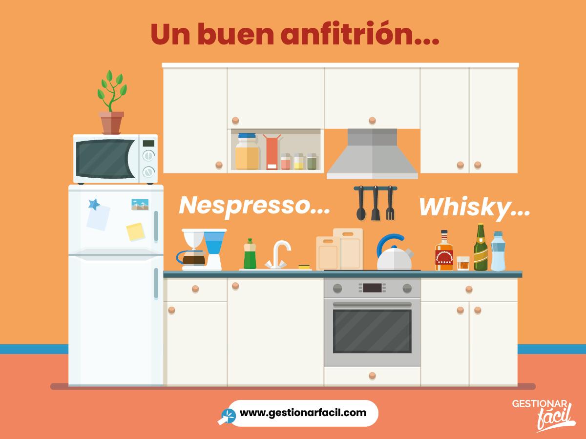 Un buen anfitrión: Nespresso vs. Whisky. Qué es innovar...