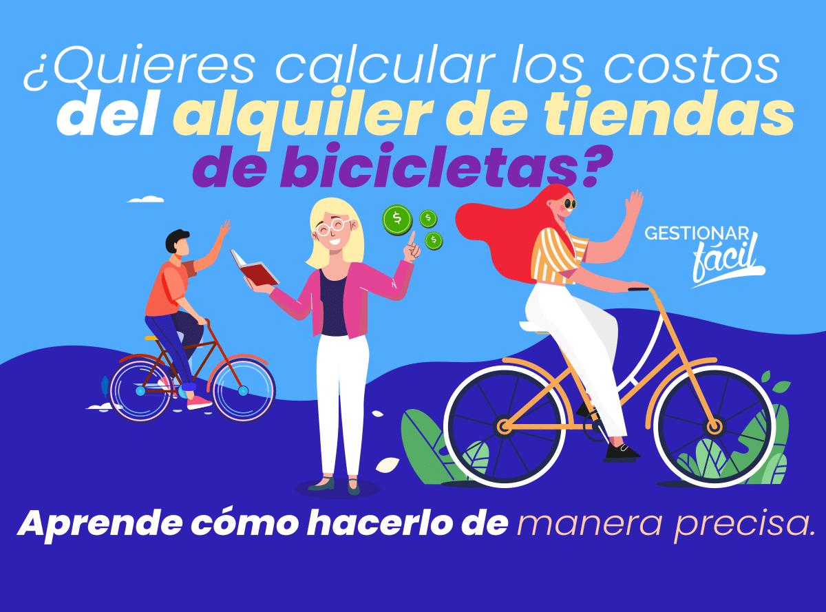 Costos del alquiler de bicicletas ¿Cómo calcularlos?