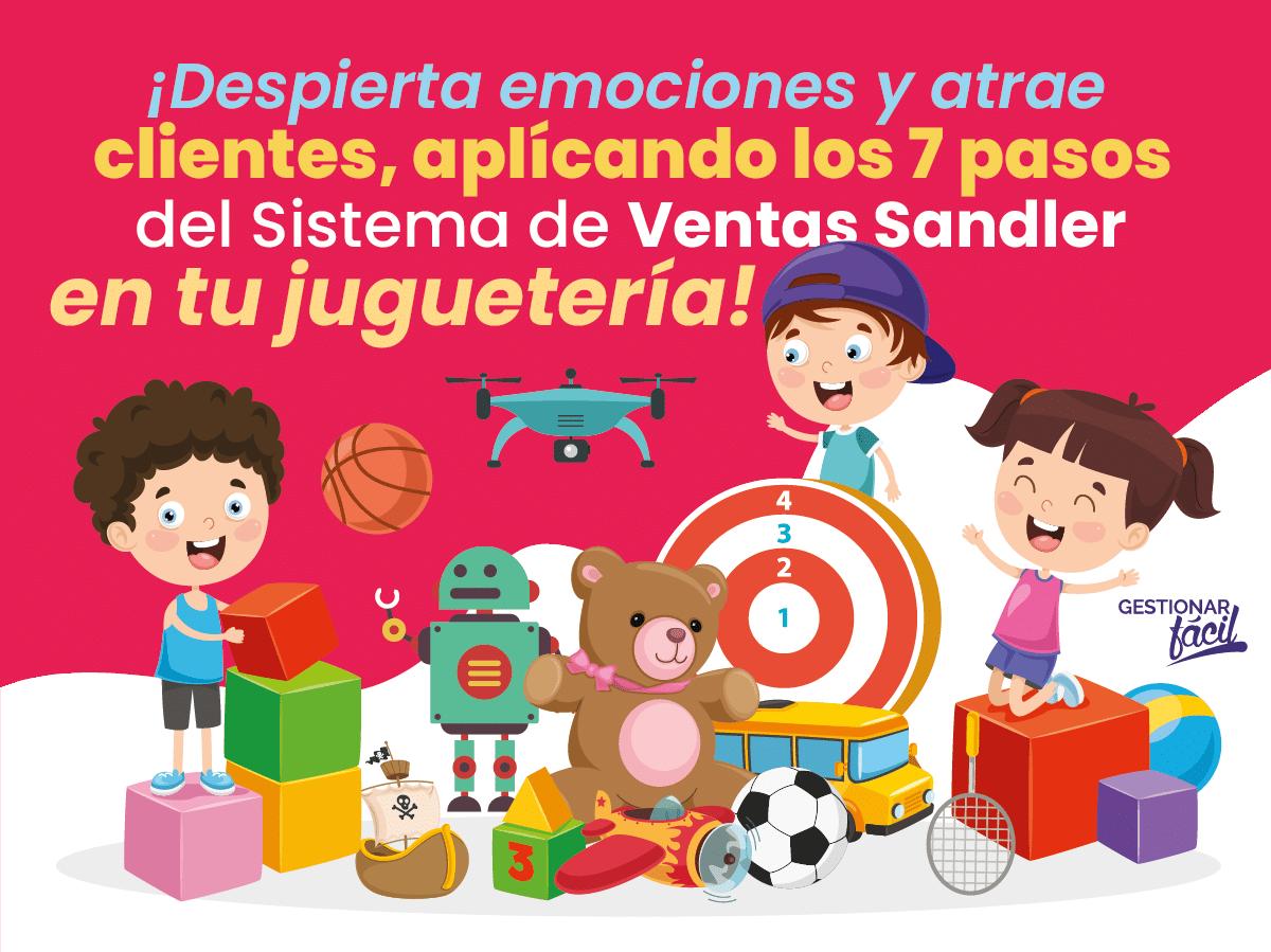 Sistema de ventas Sandler en una juguetería