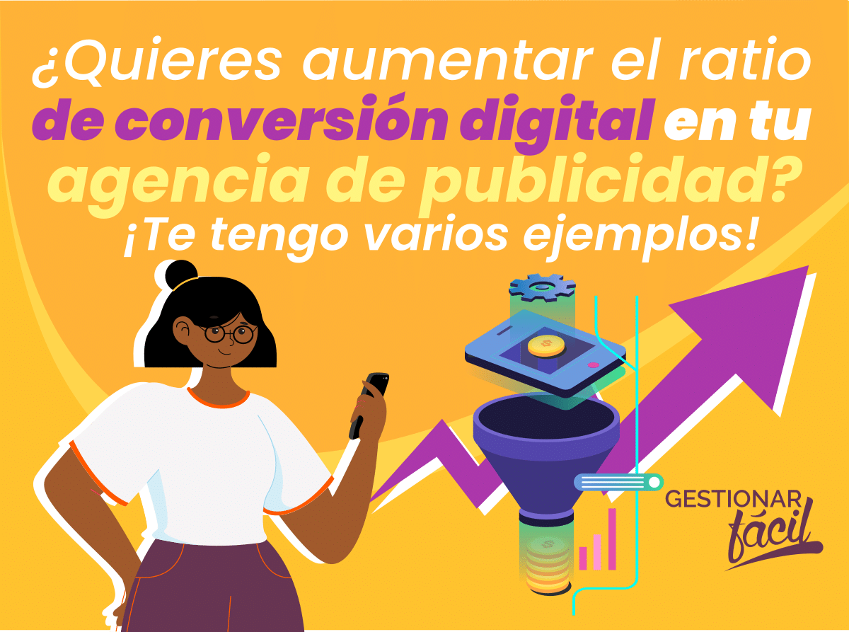 Ratio de conversión de marketing en agencias de publicidad