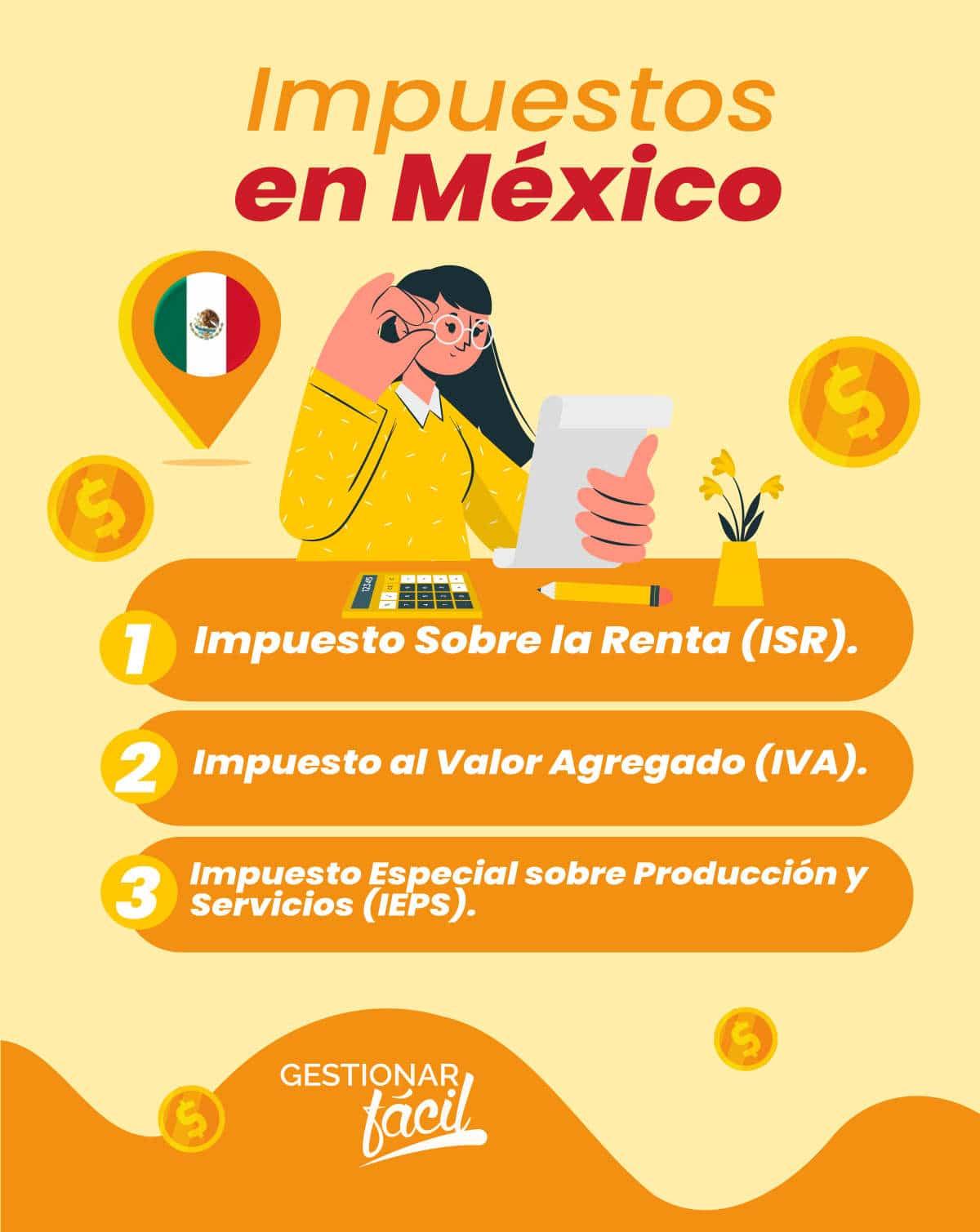 Impuestos en México.