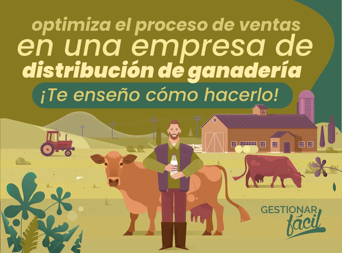 Proceso de ventas en una empresa de ganadería