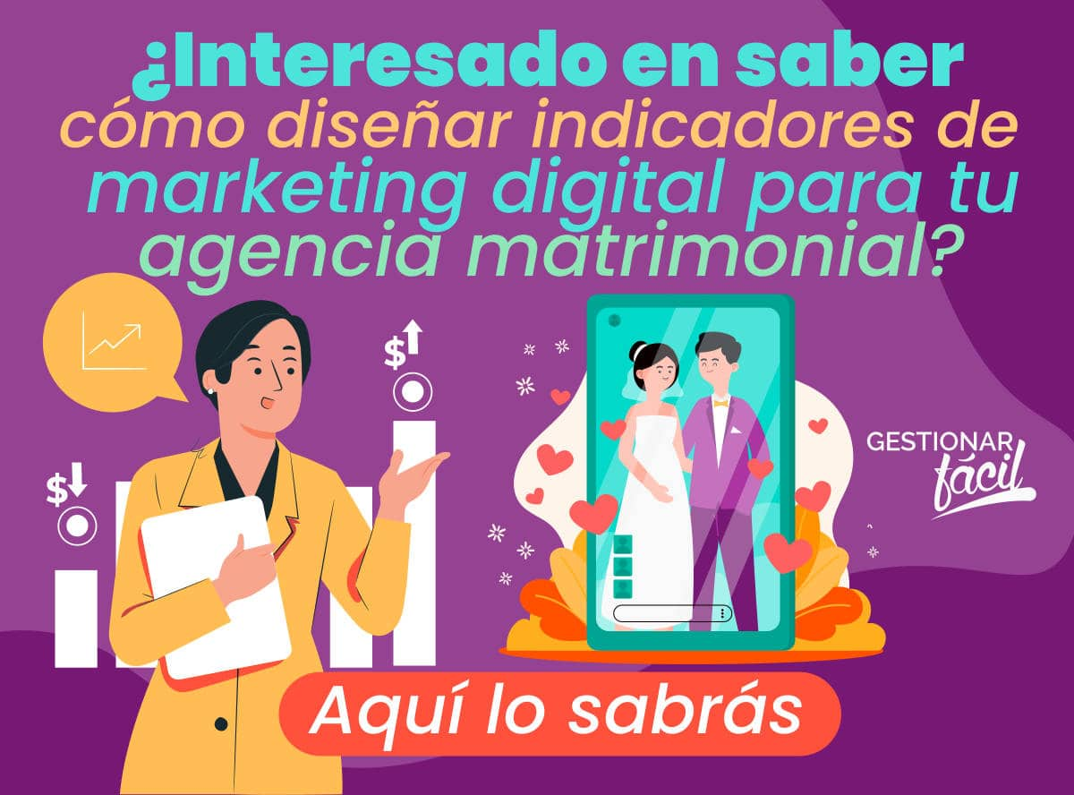 Indicadores de marketing digital para agencias matrimoniales