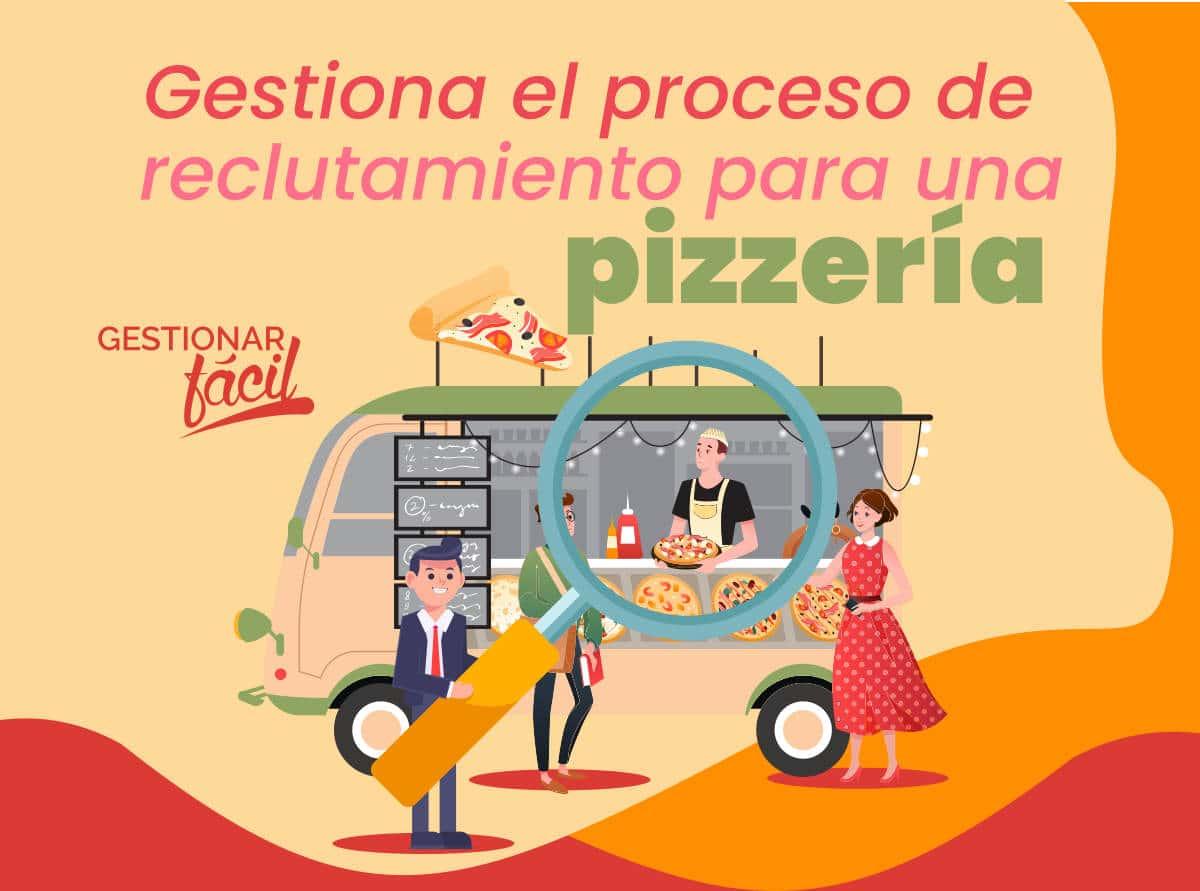 Proceso de reclutamiento en una pizzería