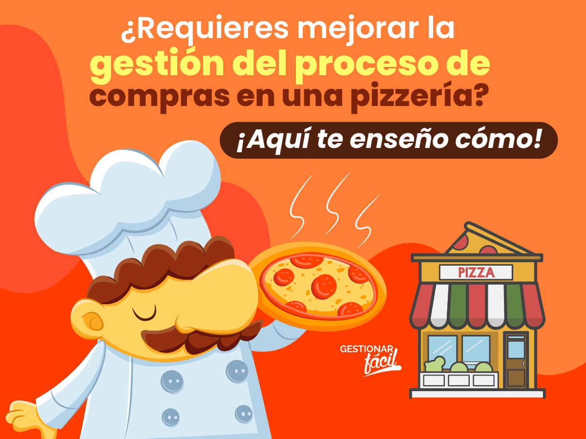 ¿Cómo gestionar el proceso de compras en una pizzería?
