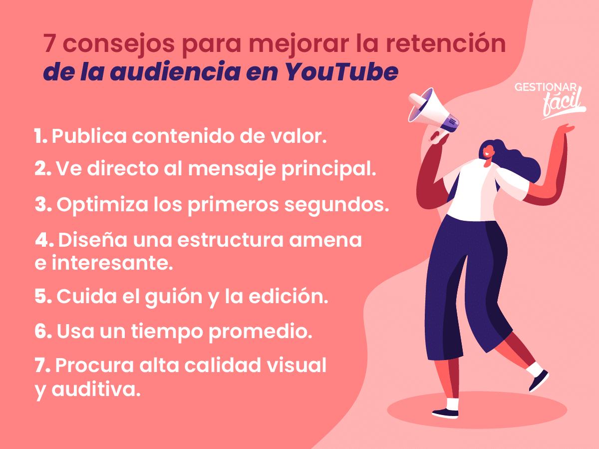 KPI de marketing en YouTube para medir retención de audiencia