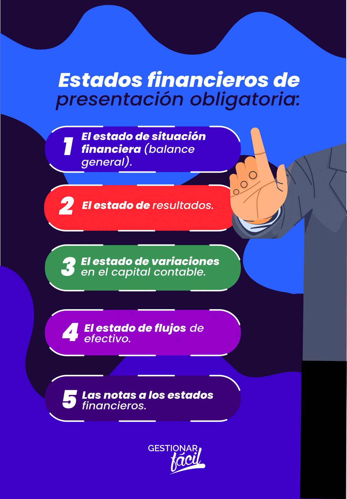 Estados financieros de presentación obligatoria.