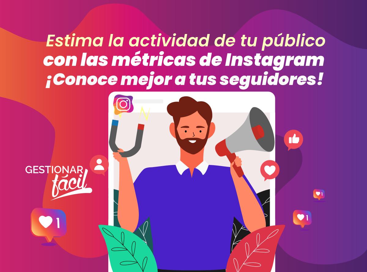 Métricas de Instagram para estimar la actividad del público