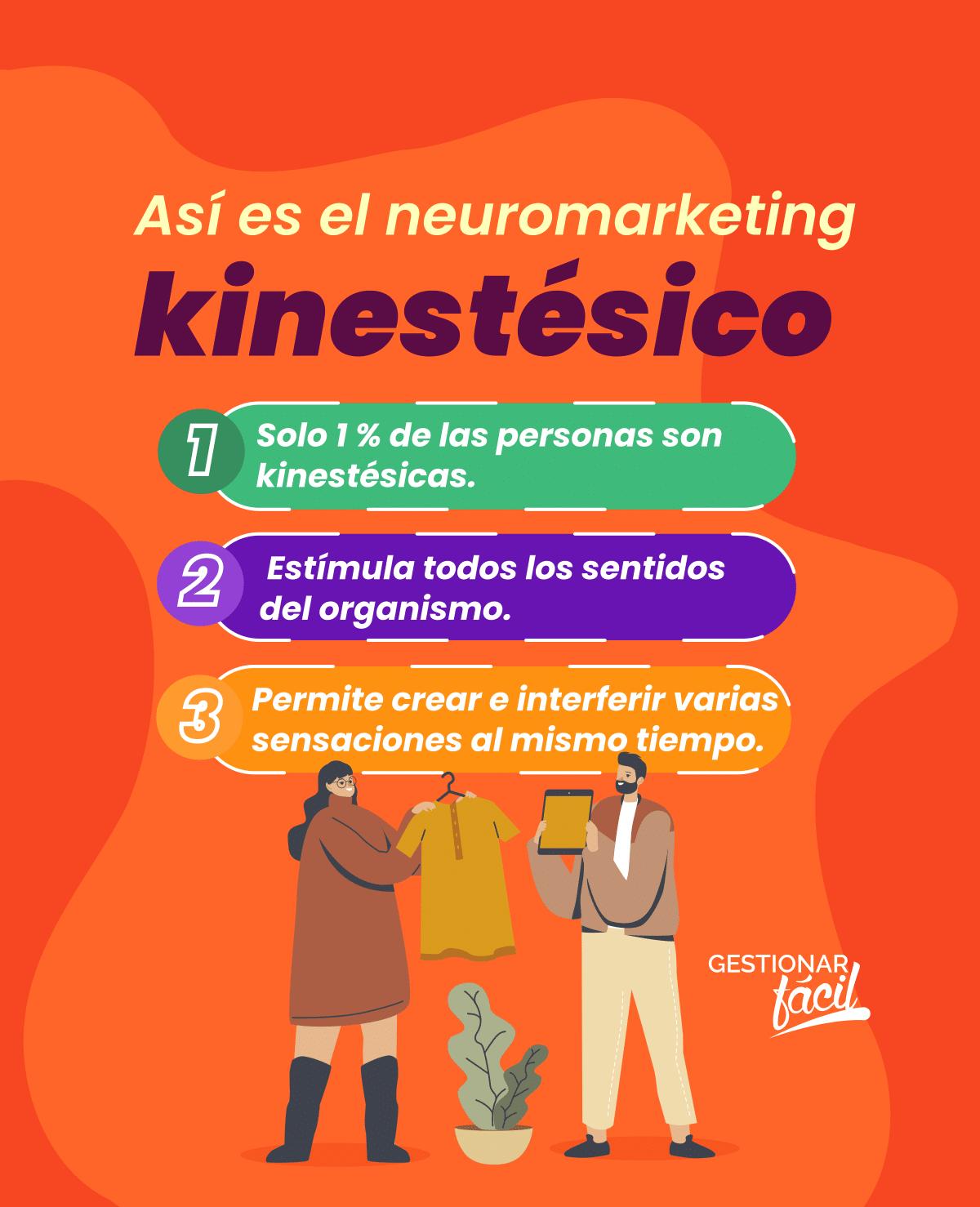Neuromarketing kinestésico. Mejora la experiencia en tu negocio 0