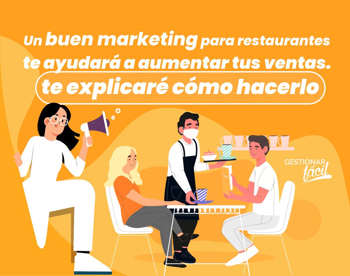 Marketing para restaurantes para aumentar tus ventas