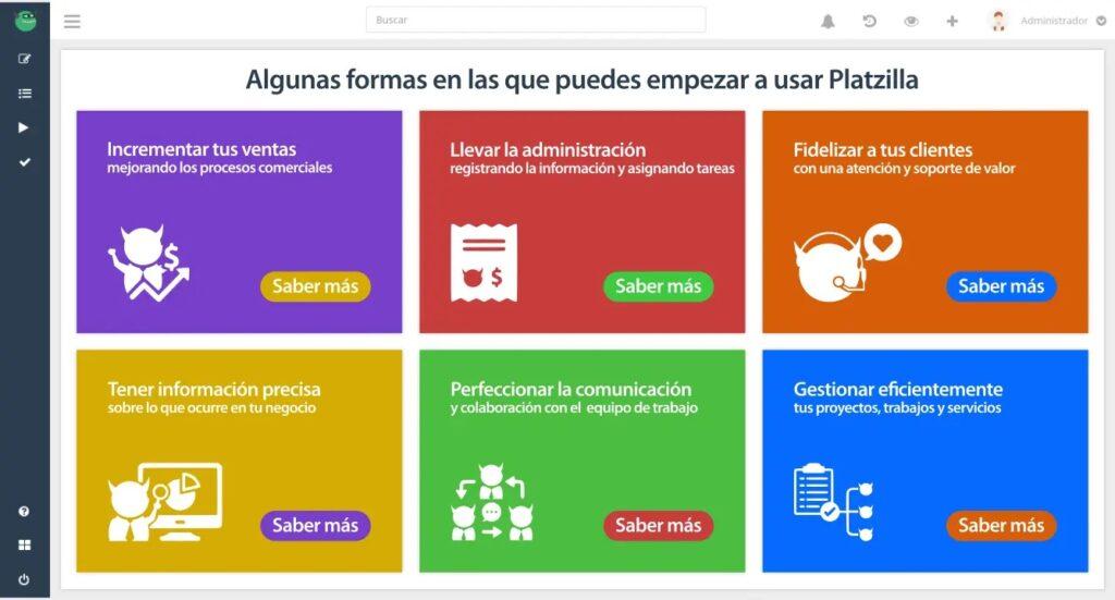 Platzilla - rendimiento del perfil en LinkedIn