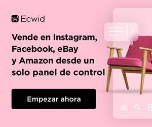 Vende en Instagram, eBay, Facebook y Amazon